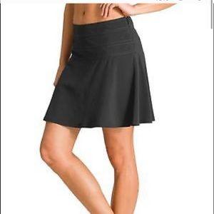Athleta everyday black skort skirt shorts
